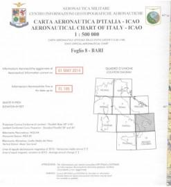 Carta ICAO-OACI F.8 - Bari...