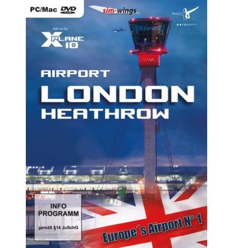 Aeroporto London Heathrow (X-Plane)