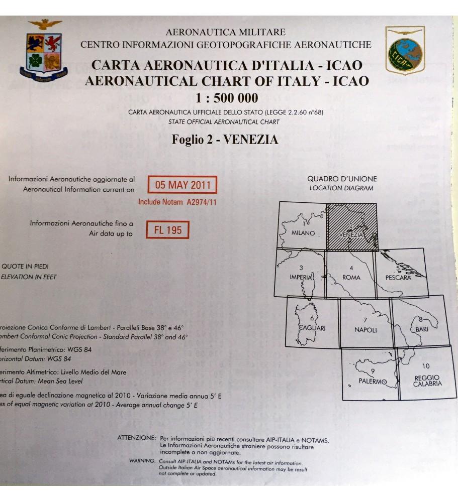 ICAO-OACI chart Sheet 2 - Venice (2011)