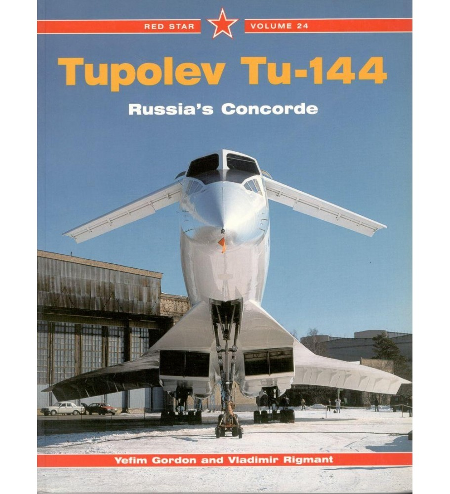 Tupolev Tu-144 Red Star vol. 24