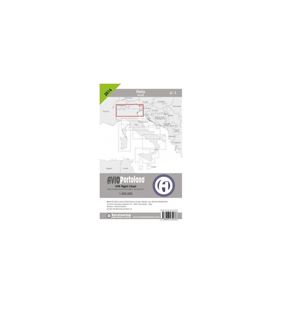 Carta Avioportolano LI-1 - 2017