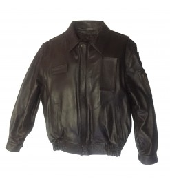 Italian pilots leather jacket