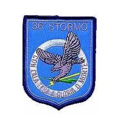 Distintivo 36° Stormo