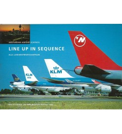 Line up in sequence