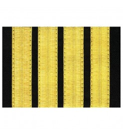 Pilot epaulettes with 4 bars