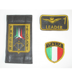 Set of 3 leather patches of...