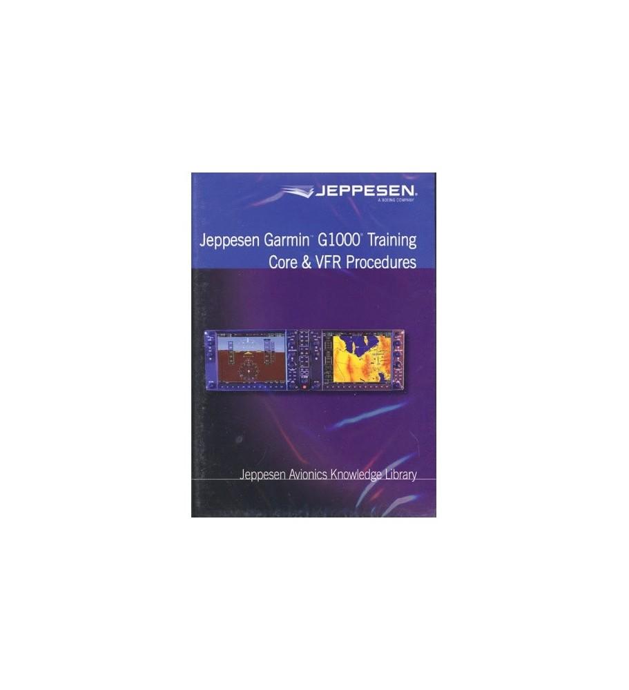 DVD Jeppesen Garmin G1000 Training – Core & VFR