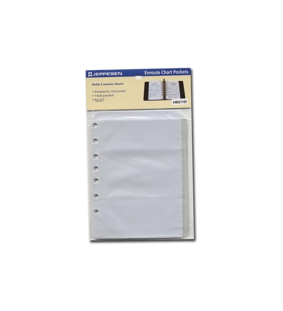 Enroute Chart Pockets (5 Pz.)